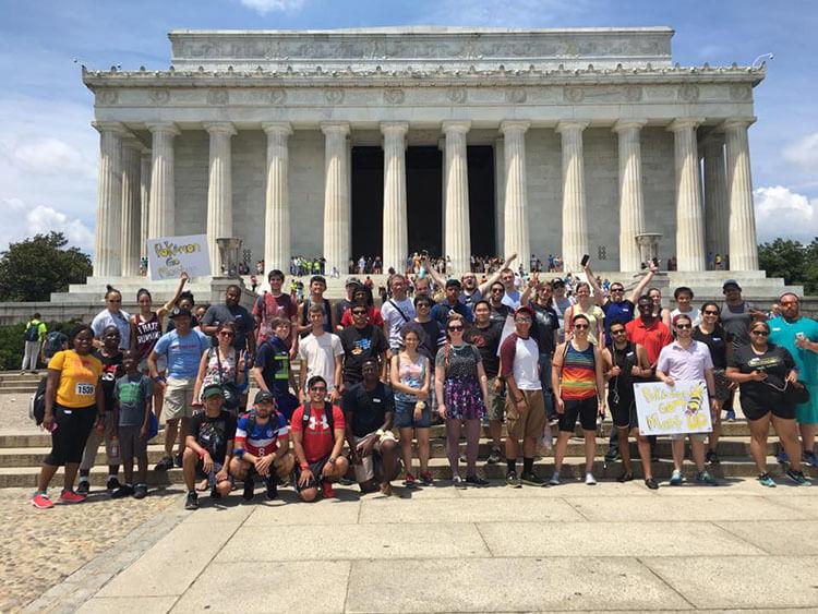 Reunión de jugadores de Go en Washington DC.