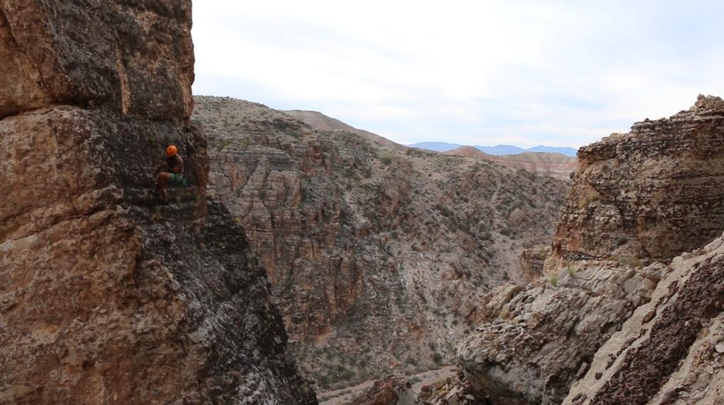 Escalando en Utah
