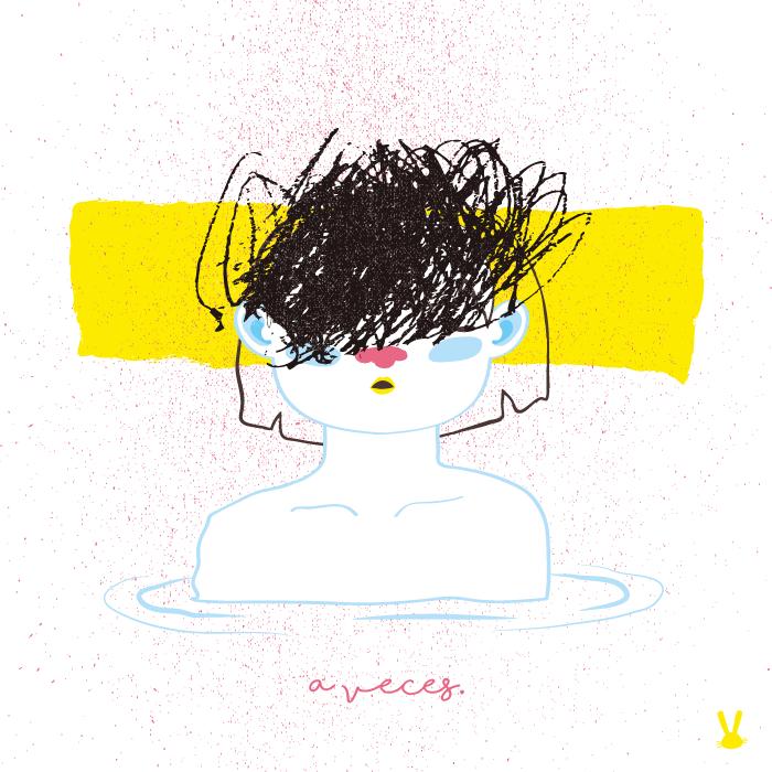 A veces. Illustración por La Coneja.