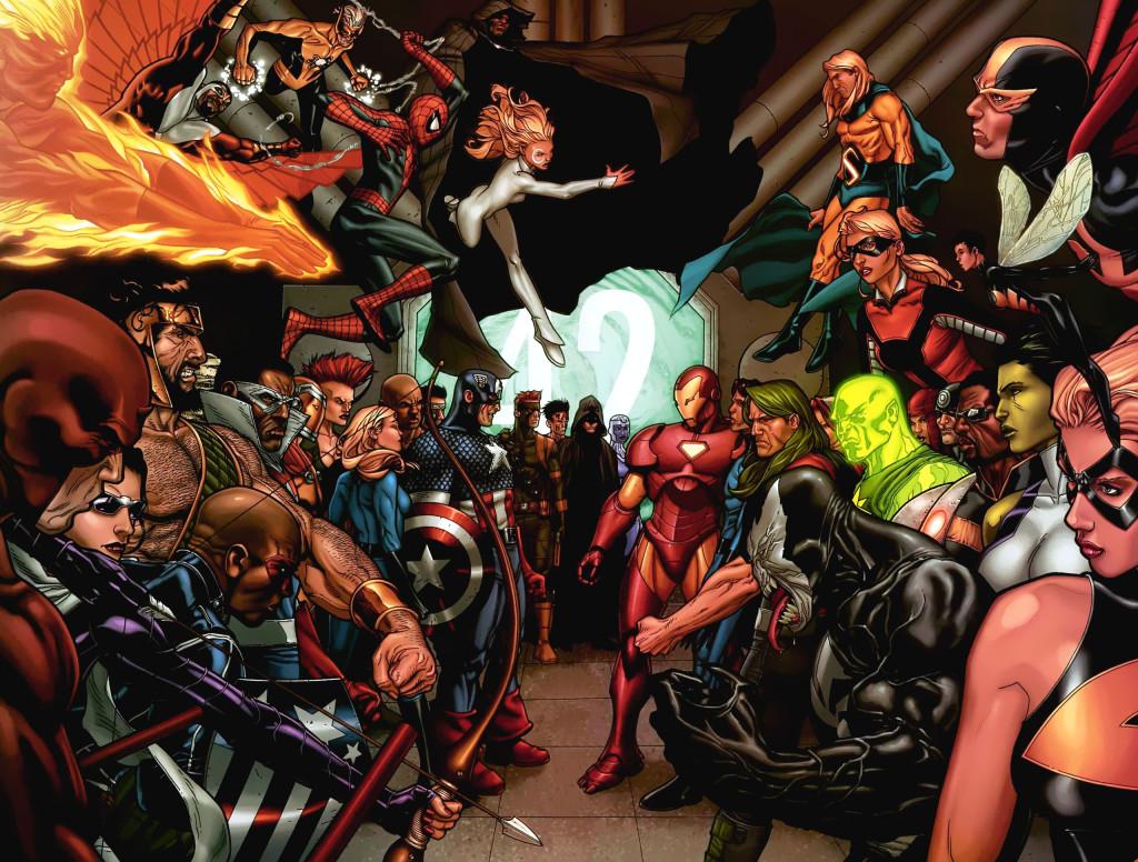 Civil War por Marvel Comics