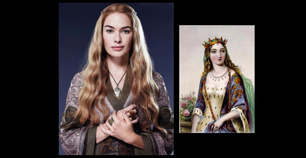 Cersei Lannister y Marguerite de Anjou