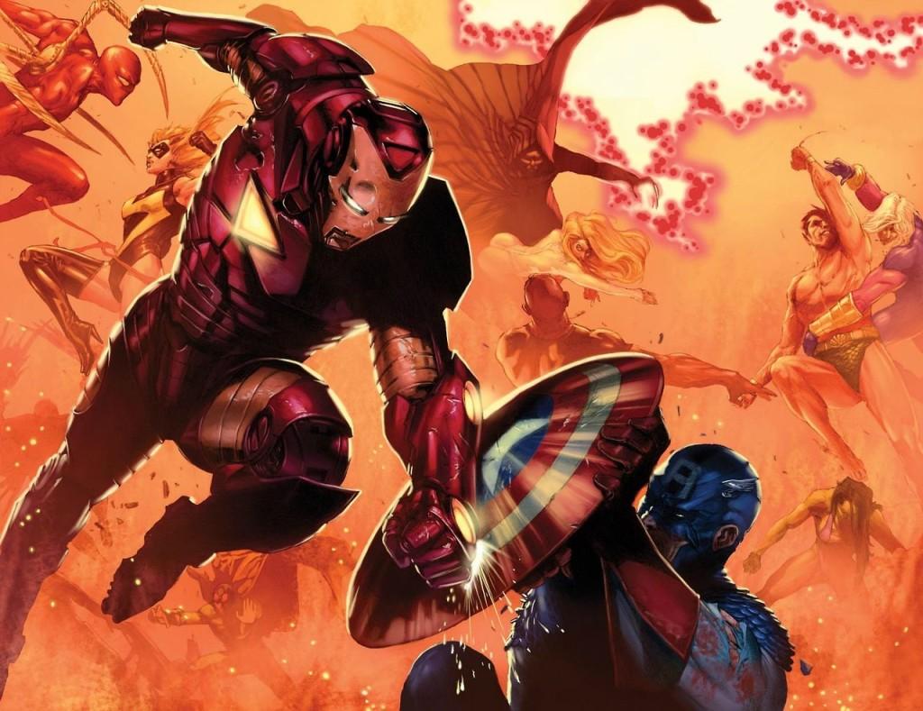 Diseño de Marvel para el cómic Civil War