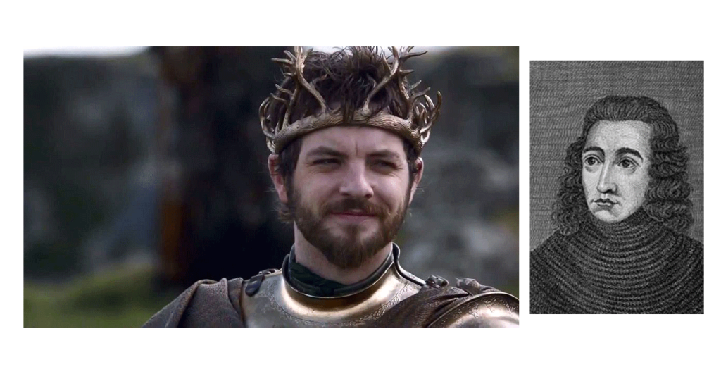 Renly Baratheon y George Duque de Clarence