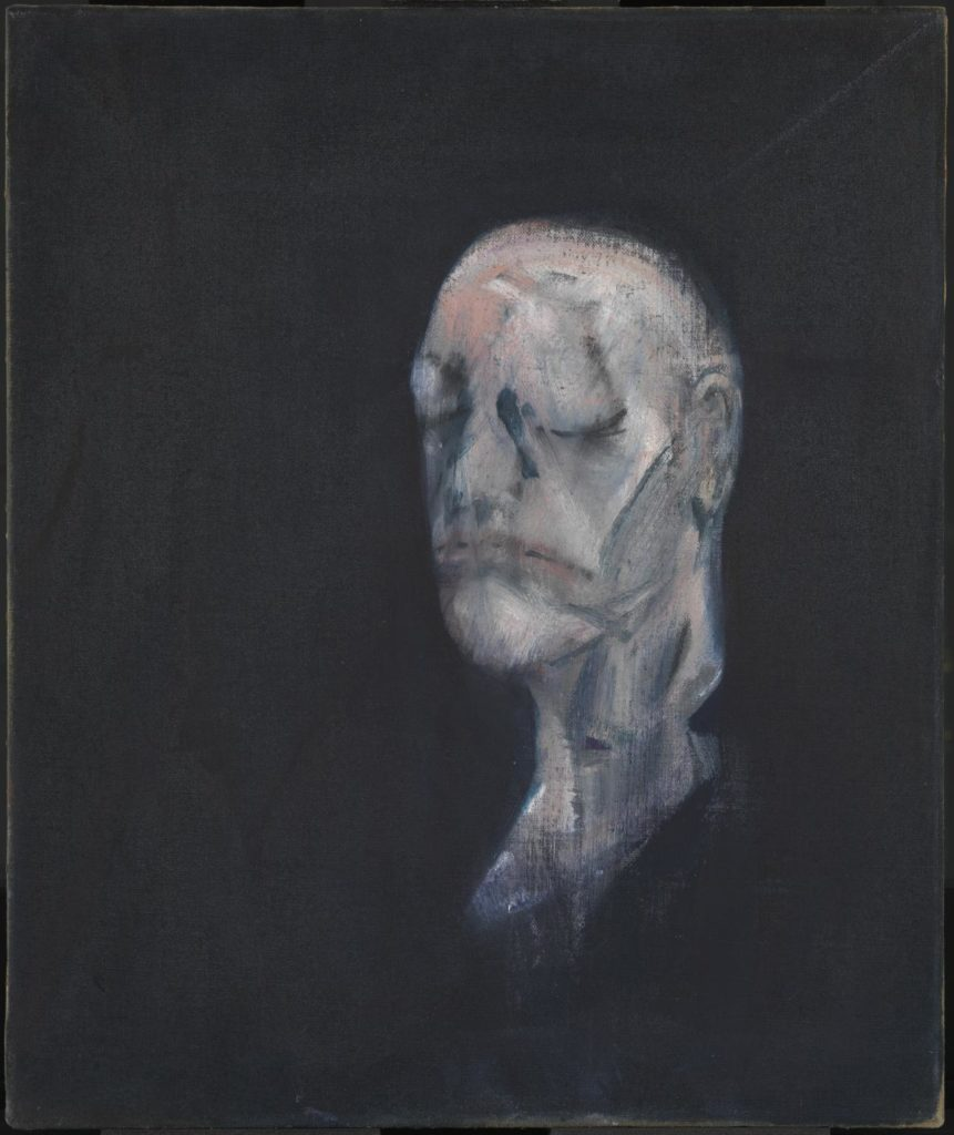 Study for Portrait II, 1955 Francis Bacon. Tate Museum.