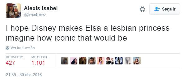 Tweet Elsa