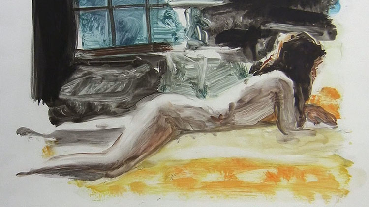 "De Eric Fischl, ""Friends, lovers and other constelations""."