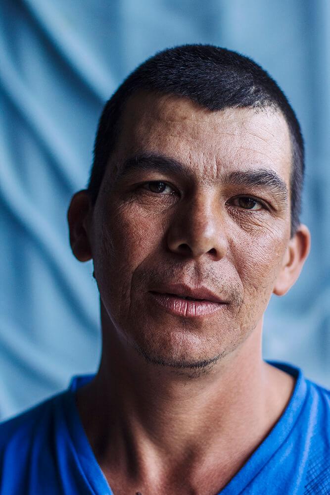 Don Óscar, caficultor de la zona de los Santos, San José. Costa Rica.