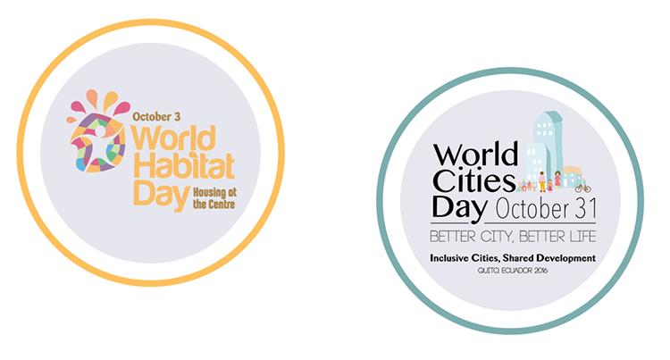 Octubre Urbano: empieza con el Día Mundial del Hábitat y termina con el Día Mundial de las Ciudades.