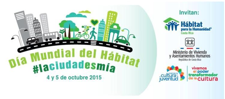 Celebración del Día Mundial del Hábitat en 2015.