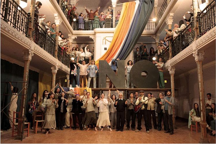 Extracto de la película NO (2012).